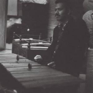 Budi S. Putra plays gambang