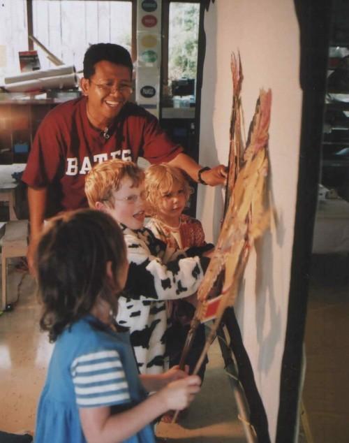 Joko With Playcentre Kids