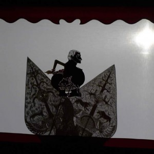 Winter Wayang Jack Tableau With Trees