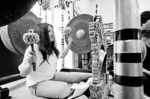 Gongs of the Balinese Gamelan Taniwha Jaya