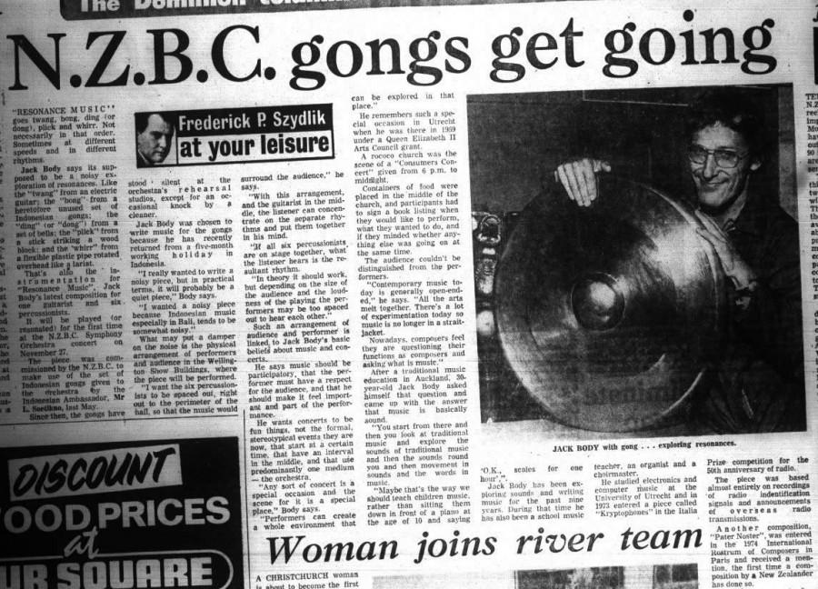 Dominion 19 Nov 1974 Nzbc Gongs