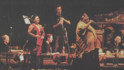 GPM perform at the Yogyakarta Gamelan Festival with Waljinah and Slamet Gundono, 2007