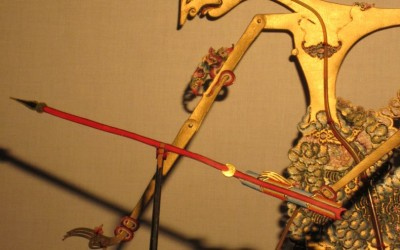 Wayang Kulit at the SE Asian Night Market