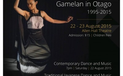 A Celebration of 20 Years of Gamelan at Otago