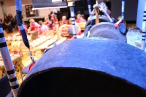 Balinese gongs foreground Gamelan Padhang Moncar