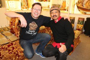 Gareth Farr and Budi S Putra
