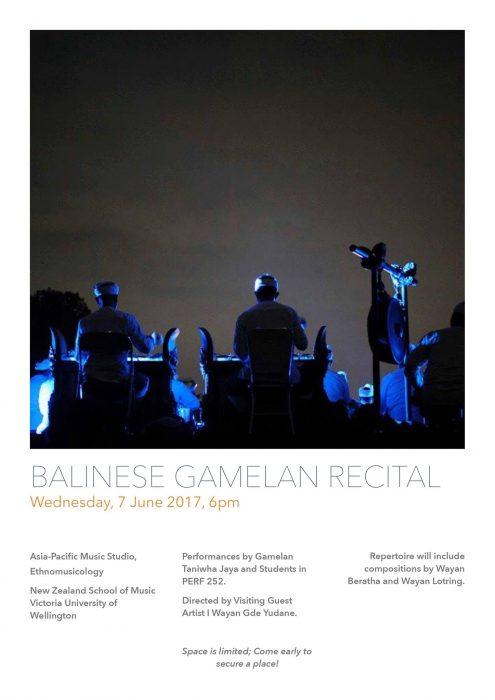 Bali Recital