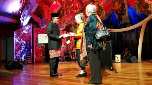Tantowi Yahya Jennifer Allan Award